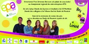 Invitation Championnat Bretagne des mini-entreprises-EPA