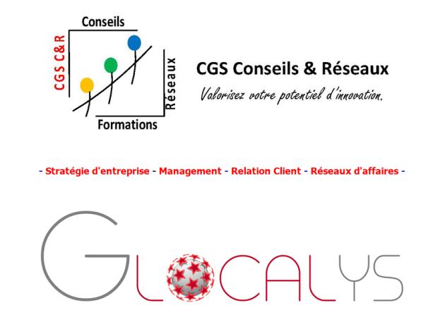 Marque et logo Duo CGS C&R - GLOCALYS